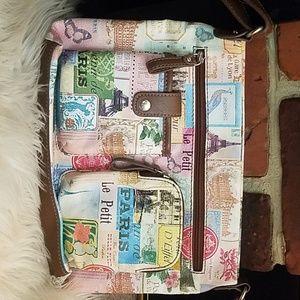Relic Paris print purse